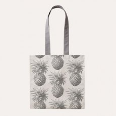 Thornback & Peel Grey Pineapple Tote Bag