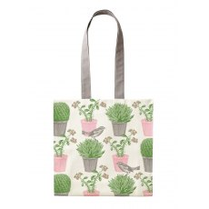 Thornback & Peel Cactus & Bird Tote Bag