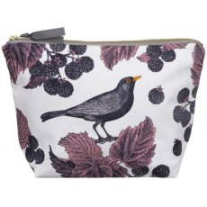 Thornback & Peel Classic Blackbird & Bramble Large Cosmetic Bag