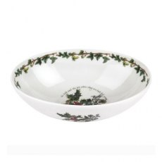 The Holly & The Ivy Oval Bowl 8inch