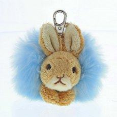 Peter Rabbit Pom Pom Key Ring