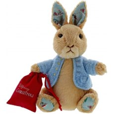 Peter Rabbit Christmas Small Soft Toy