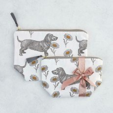 Thornback & Peel Dog & Daisy Cosmetic Bag