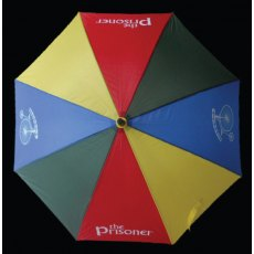 The Prisoner Umbrella Multi Colour