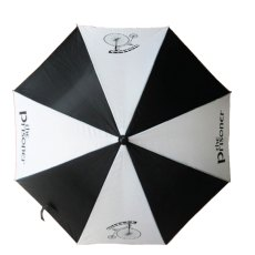 The Prisoner Umbrella Black & White