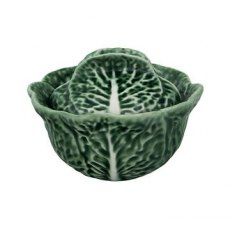 Bordallo Pinheiro Cabbage (Couve) 0.2L Tureen Natural Pack x 2