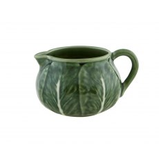 Bordallo Pinheiro Cabbage (Couve) Milk Jug