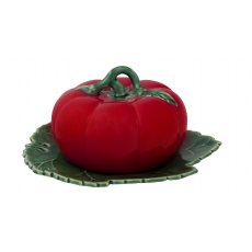 Tomato Butter Dish With Cover