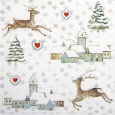 Lovely Winter Time Napkins