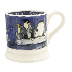 Emma Bridgewater Winter Penguins 1/2 Pint Mug