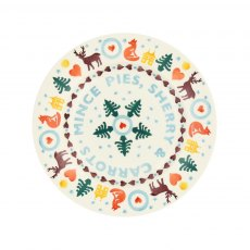 "Emma Bridgewater Christmas Brights Mince Pies 8.5"" Plate"