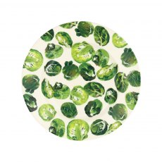 "Emma Bridewater Vegetable Garden Sprouts 8 1/2"" Plate"