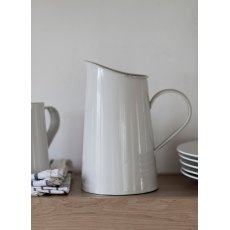 Steel Classic Jug in Chalk