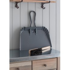 Steel Workshop Large Dustpan in Charcoal