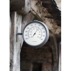 Waterloo Double Sided Clock & Thermometer