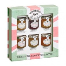 Wilkin & Sons Tiptree The Cocktail Conserve Collection, 6 x 42g