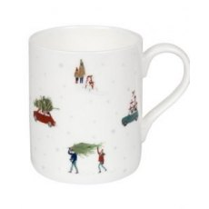 Home For Christmas White Mug