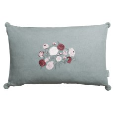 Sophie Allport Peony Embroidered Cushion