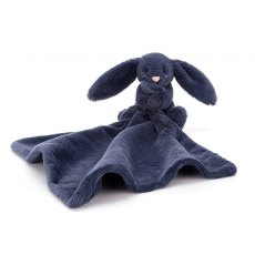 Jellycat Bashful Navy Bunny Soother