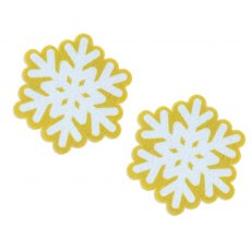 Vigar Christmas Snowflake Sponge (Pack of 2)