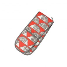 Spike Double Oven Glove - Red