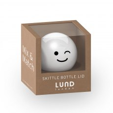 Lund Skittle Bottle Lid White
