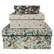 Emma Bridgewater Green/Red Christmas Box