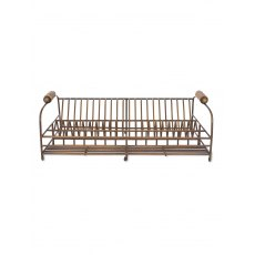 Brompton Dish Rack Antique Brass Finish