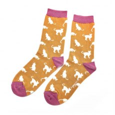 Miss Sparrow Cats Socks