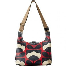 Orla Kiely Mini Sling Bag Spring Bloom - Poppy