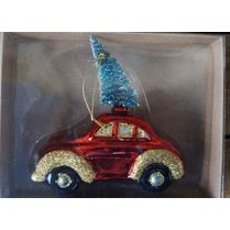 Glass Car Hanging Ornament
