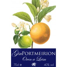 Gin Oren a Leim Portmeirion Orange & Lime