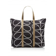 Orla Kiely Classic Giant Linear Stem Foldaway Travel Bag