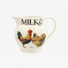 Emma Bridgewater Rise & Shine Milk & Cream 1/2 Pint Jug