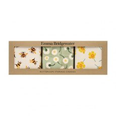 EB Buttercups S/3 Square Tins