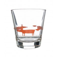 Orange Glass Tumbler Mr Fox