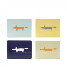 Mr Fox Placemats S/4