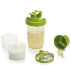Kitchen Craft Healthy Eating Protein Shaker Bottle
