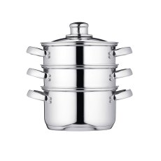 Kitchen Craft S/S Three Tier Steamer