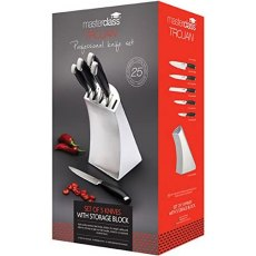 MasterClass Trojan 5pc Knife Set Designer Block