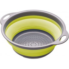 Colourworks 24cm Collapsible Colander Apple Green