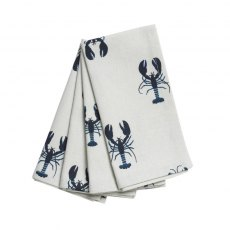 Lobster Fabric Napkins S/4 41cx41cm