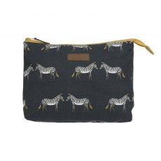 Sophie Allport Zebra Canvas Wash Bag