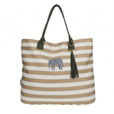 Sophie Allport Elephant Canvas Tote Bag