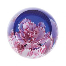 Floral Charms Carnation Paperweight