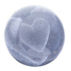 Special Moments Silver Heart Paperweight