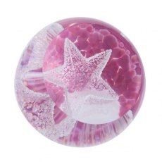 Special Moments Little Stars Paperweight Pink