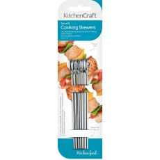 Flat Sided Stainless Steel Skewers