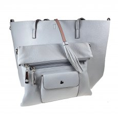 Kris Ana Large Tote With Hand Clutch