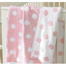 Walton & Co Knitted Softee Blanket Spot